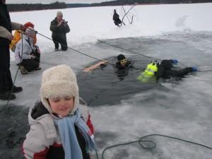 Der Plautziger See im Winter